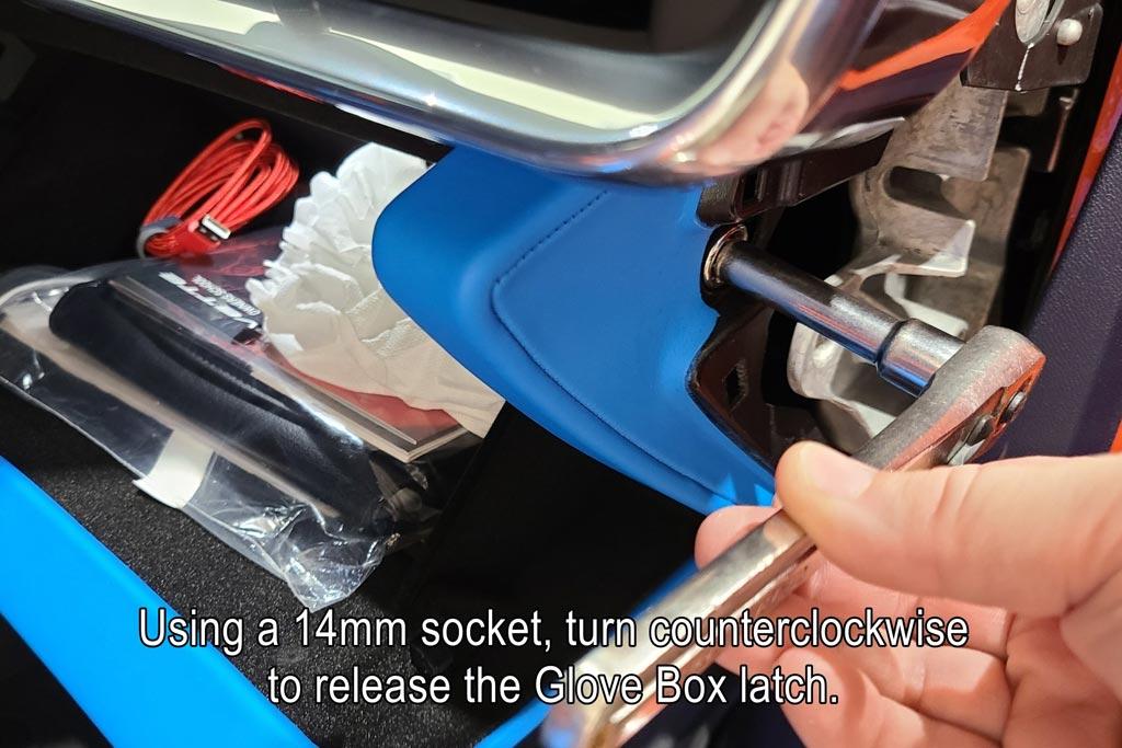 Manual Glove Box Release