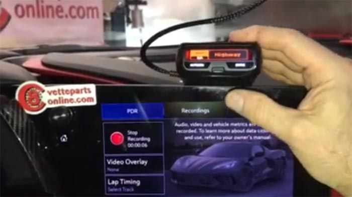 [VIDEO] Install a Radar Detector in Your C8 Corvette With Power from the Rearview Mirror