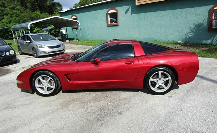 Corvettes on Craigslist: 2004 Corvette Coupe in Magnetic Red II
