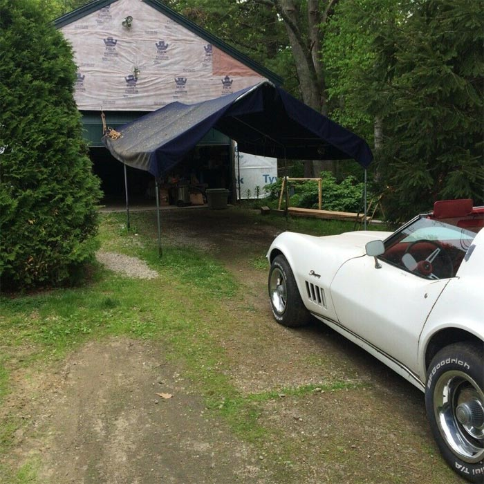 Corvettes on eBay: 1969 Corvette Barn Find With a Boatload of Options