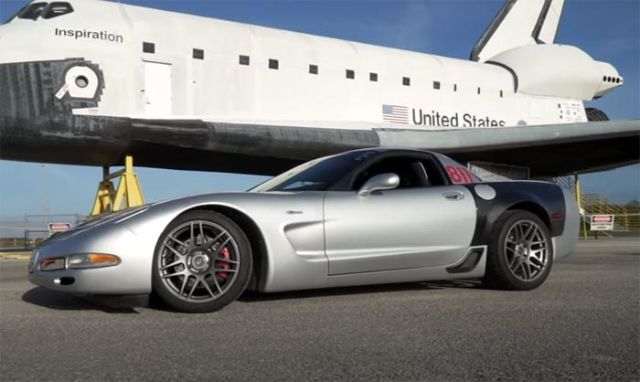 [VIDEO] 900-HP C5 Corvette Z06 Runs the Standing Mile on the Space Shuttle's Runway