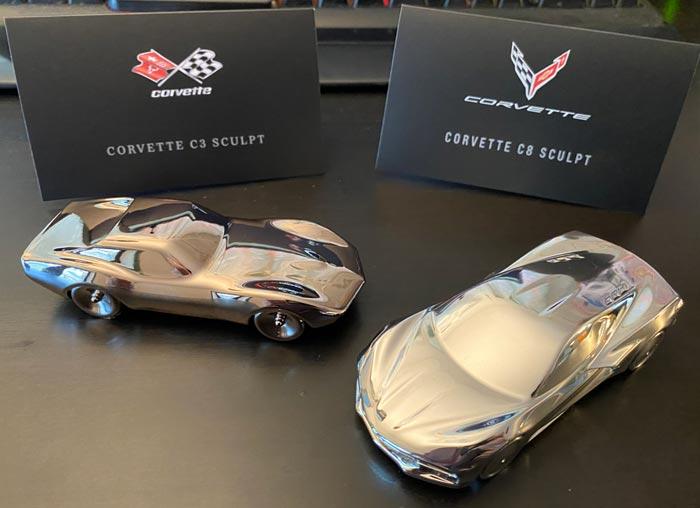 [VIDEO] Unboxing the Amalgam Collection's New Corvette Sculptures