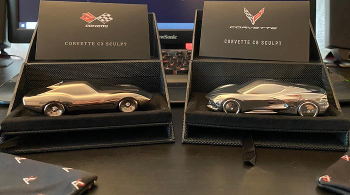 Corvette Sculptures from The Amalgam Collection