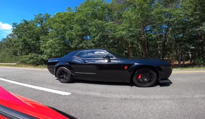 [VIDEO] 2020 Corvette Beats Up Repeatedly on a Tuned Dodge Demon
