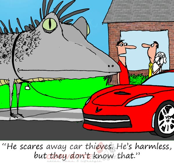 Saturday Morning Corvette Comic: Innovative Security Systems