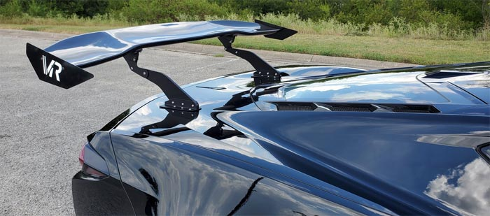 C8.R-Style Rear Wings Now Available from Aerolarri and Victor Racing