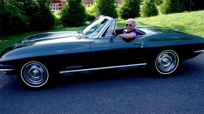 Did Joe Biden Just Out GM's Secret Plans for an All-Electric Corvette?