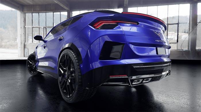 [PICS] Digital Artist Renders a C7 Corvette-Inspired SUV