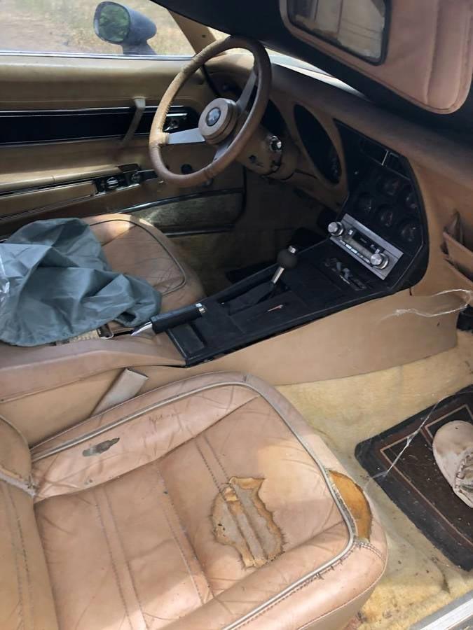 Corvettes on Craigslist: Garden Variety 1977 Corvette Field Car for $3,000