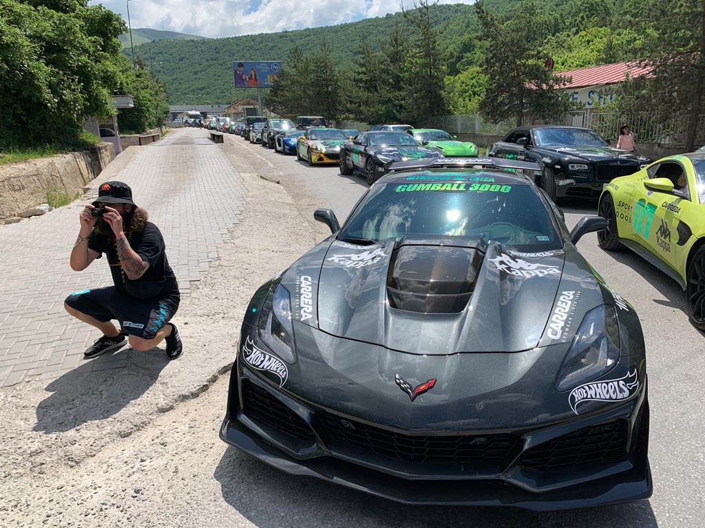 [PICS] 2019 Corvette ZR1 at the Gumball 3000