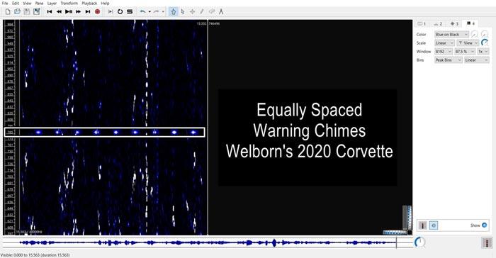 Jeremy's C8 Corvette Spectrogram