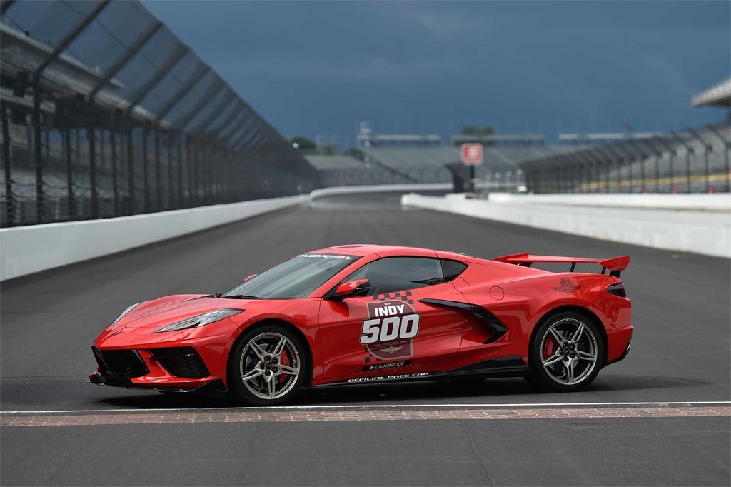 2020 Corvette Stingray is the Official Pace Car of the 104th Indianapolis 500