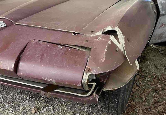 Corvettes on eBay: 1965 Corvette Barn Find