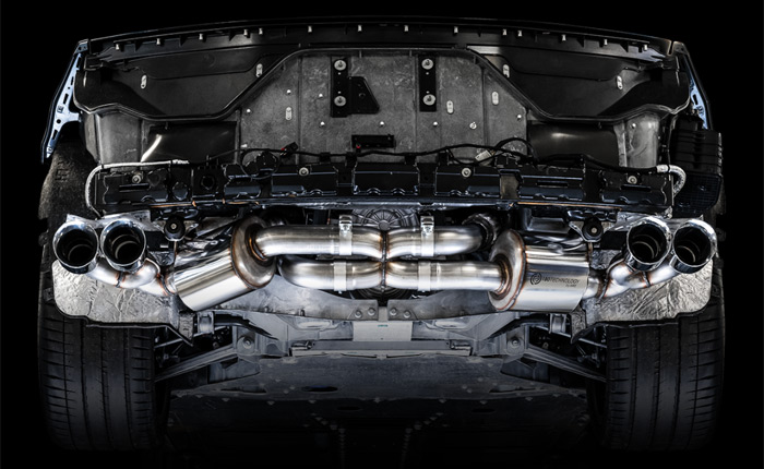 AWE Touring Exhaust for the C8 Corvette