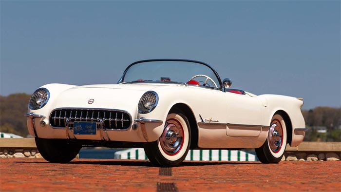 1955 Corvette Roadster VIN 002