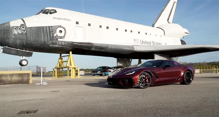 [VIDEO] 2019 Corvette ZR1 Hits 214 MPH On 2.7 Mile Runway
