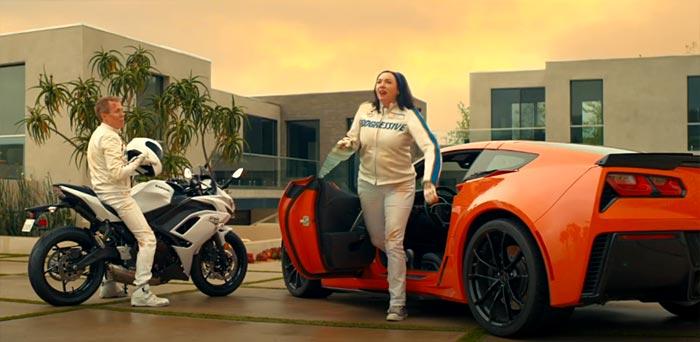 [VIDEO] Flo's Latest Ride is a C7 Corvette Grand Sport
