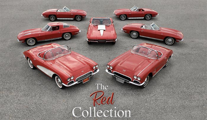 Corvettes for Sale: Auburn Auction to Offer the 'Red Collection'