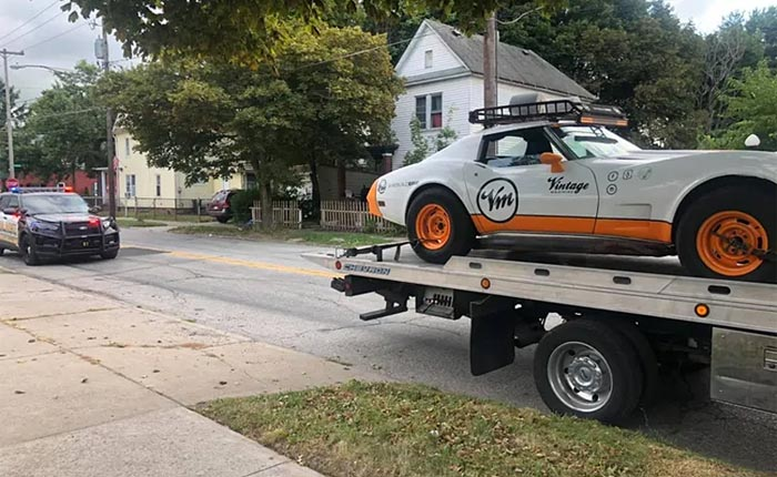 [STOLEN] Police in Erie are Searching for the Teens Who Stole and Crashed a 1976 Corvette