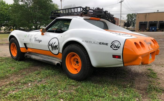 [STOLEN] Police in Erie are Searching for Joyriding Teens Who Crashed a 1976 Corvette