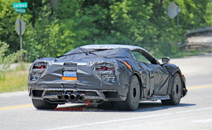 [VIDEO] Here's Another Look at the Flat-Plane Crank 2022 Corvette Z06
