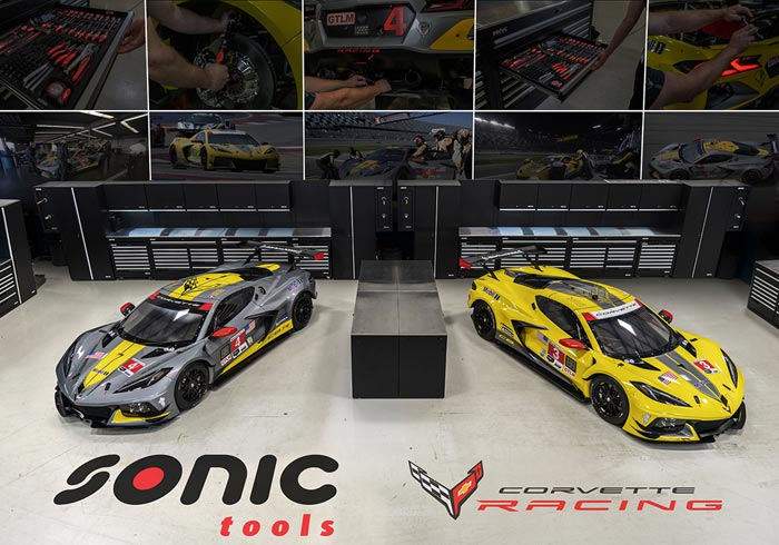 [VIDEO] Get a Free Corvette Racing Poster with Purchase During SONIC Tools Flash Sale