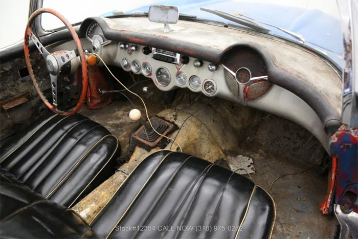 Corvettes for Sale: 1957 Corvette Could Be a Resmotomod in Waiting