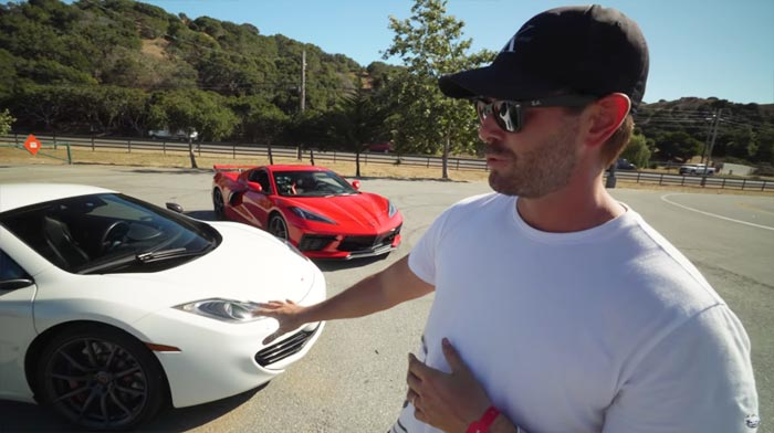 [VIDEO] McLaren MP4-12C Owner Reacts to a Drive in the C8 Corvette