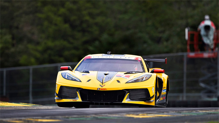 Corvette Racing's Antonio Garcia Thought C8.R's Diffuser Vibration Was 'Terminal'