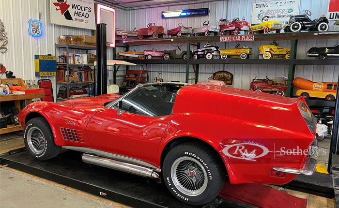 Corvettes for Sale: 1969 Corvette Wagon Headed to RMSotheby's Auburn Auction