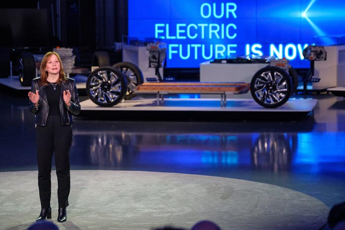 Mary Barra Shares GM's The Future is Electric Strategy