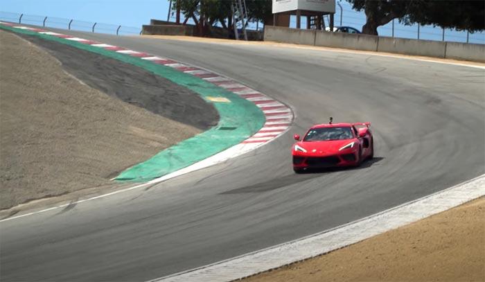 [VIDEO] Watch a 2020 Corvette Z51 Set a New C8 Lap Record at Laguna Seca