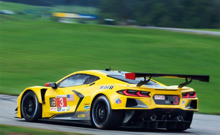Converting the Corvette C8.R to GT3 Specs Would Be a 'Relatively Large Task'