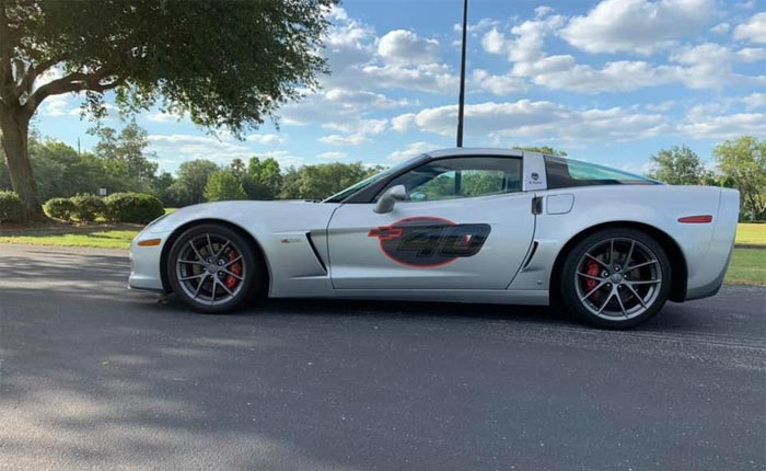 Found on Facebook: Blade Silver 2009 Competition Sport Corvette Z06 Offered in Daytona Beach