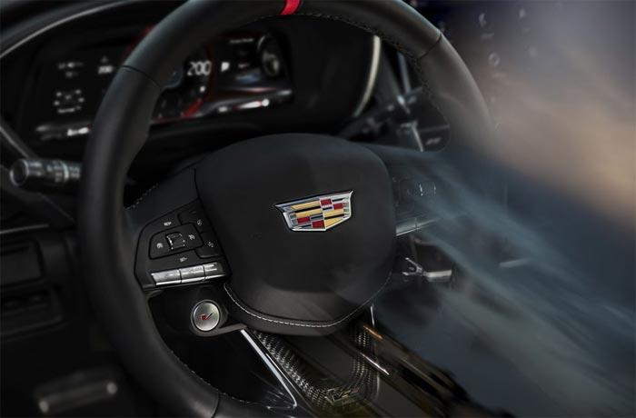 Cadillac V-Series Steering Wheel
