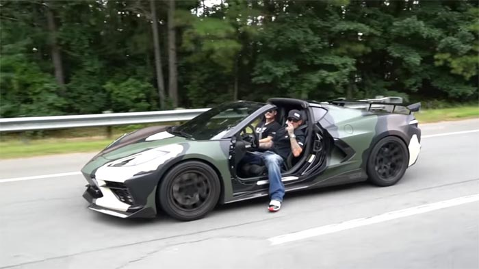 [VIDEO] 2020 Corvette Stingray Loses Its Doors, Now Called the Jeep-Ray