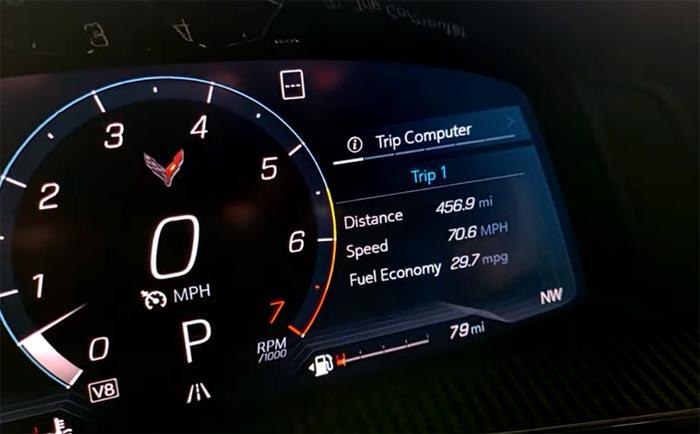 [VIDEO] 2020 Corvette Shows Off 535 Mile Fuel Range, Averages 29.7 MPG on Trip to NCM
