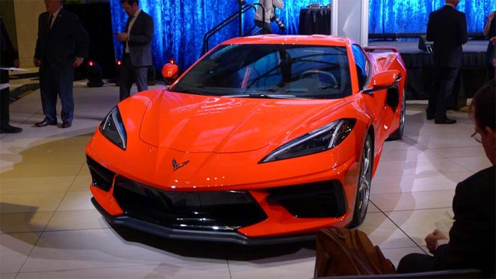 C8 Corvette Named One of Kelley Blue Book's 10 Most Awarded Cars of 2020