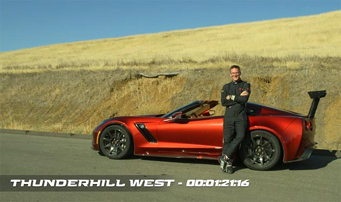 [VIDEO] Watch the Genovation GXE Electric Corvette Shatters the EV Track Record at Thunderhill West