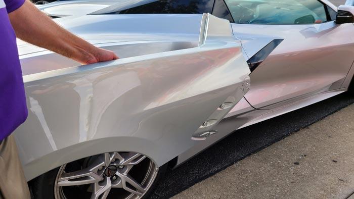 2021 Corvette Silver Flare Metallic