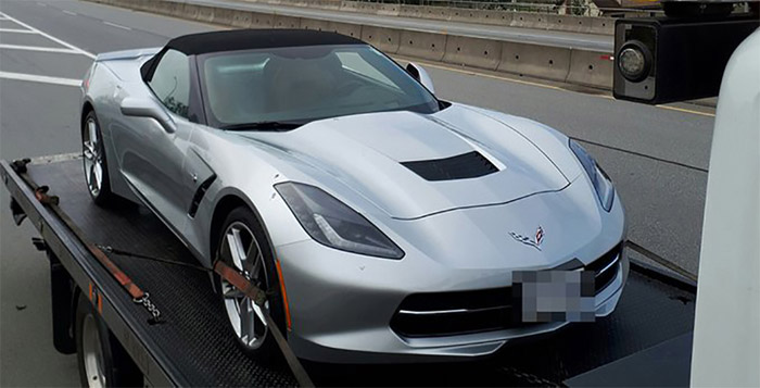 Canadian Cops Impound a C7 Corvette Stingray for Driving Nearly Double the Speed Limit