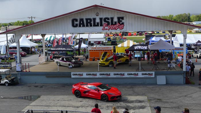 Man from Arizona Wins the C8 Corvette but Takes the Cast Option from the Chip Miller Amyloidosis Foundation