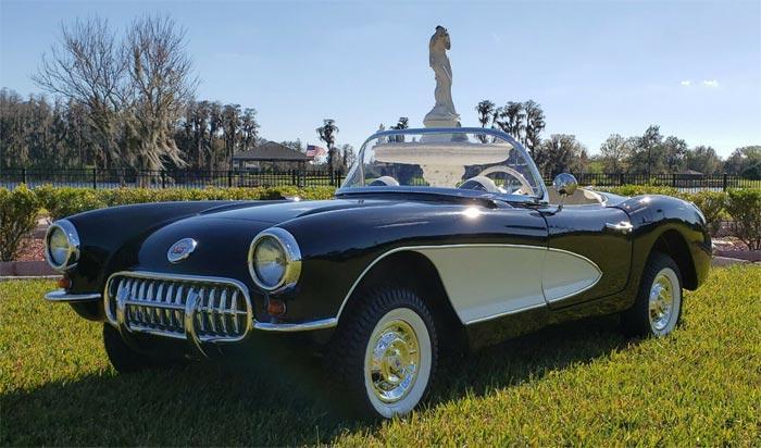 Corvettes on eBay: 1956 Mini Corvette Go-Kart Offers Big Fun in a Small Package