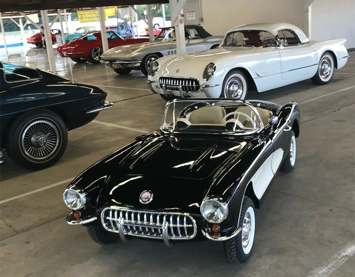 Corvettes on eBay: 1956 Mini Corvette Go-Kart