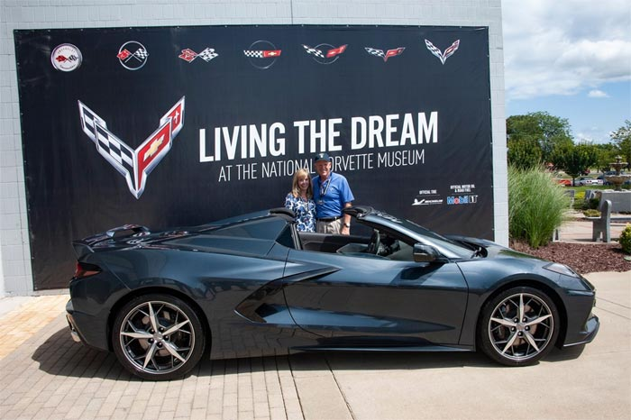 Former GM CEO Dan Akerson Takes Delivery of a 2020 Corvette at the NCM