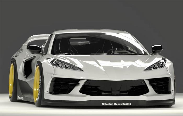 [PICS] Pandem Widebody Kit for the C8 Corvette is Revealed on Instagram