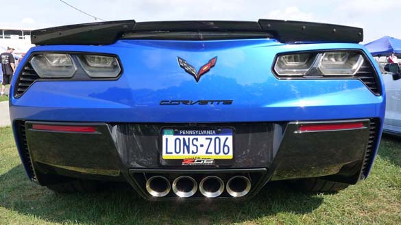 The Corvette Vanity Plates of the 2020 Corvettes at Carlisle Show