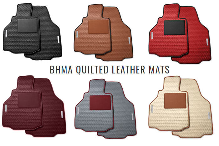 BHMA Quilted Leather Floor Mats Offer a Luxurious Upgrade to Your Corvette