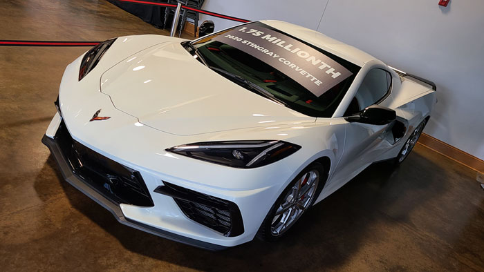[VIDEO] The National Corvette Museum Raffles The 1.75 Millionth Corvette