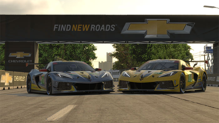 [VIDEO] Chevrolet Corvette C8.R Debuts on iRacing